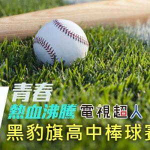 [直播]黑豹旗高中棒球賽線上看-台灣甲子園青棒球賽實況Panthers Baseball Cup Live