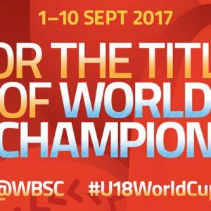 [線上看]2017 U18世界盃青棒錦標賽轉播-緯來體育台實況 WBSC U18 Baseball Live